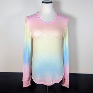 Victoria's Secret (NWT) Pastel Tie-dye Long Sleeve